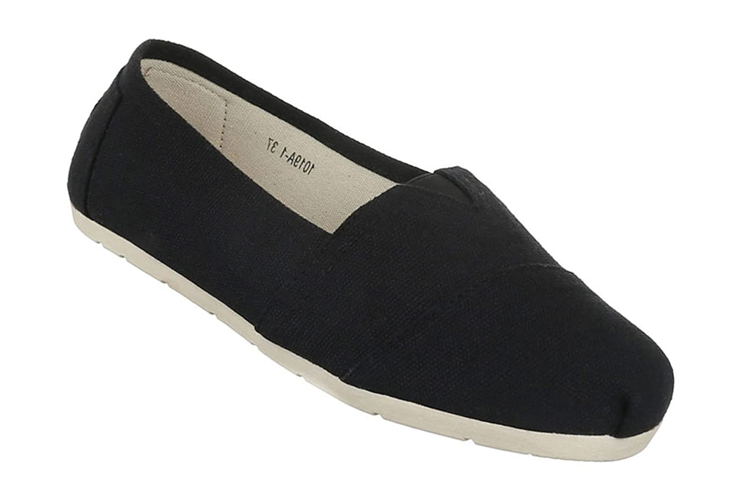 Women`s low shoes shoes moccasin Flats Slipper with Stretch Black Beige White 6 7 8 9 10 11 50%OFF