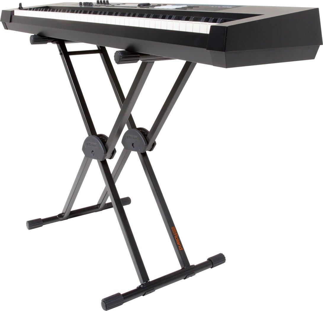 Soporte en X Roland KS-10X para teclado con barra única ajustable: Amazon.es: Instrumentos musicales