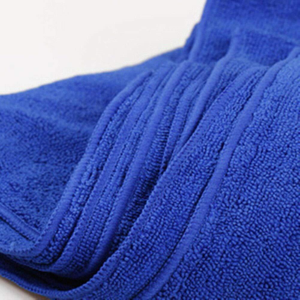 Cire Lavage Accessoires de Nettoyage de Voiture 60 * 160cm Ajboy Chiffons de Nettoyage en Microfibre tr/ès absorbants pour Polissage d/époussi/érage Bleu