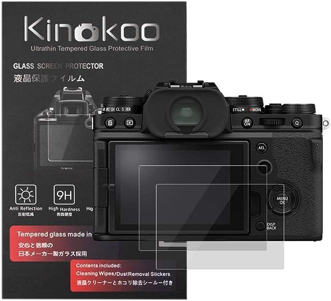 Kinokoo Gehärtete Glasfolie Für Fuji X T4 Kristallklare Kamera