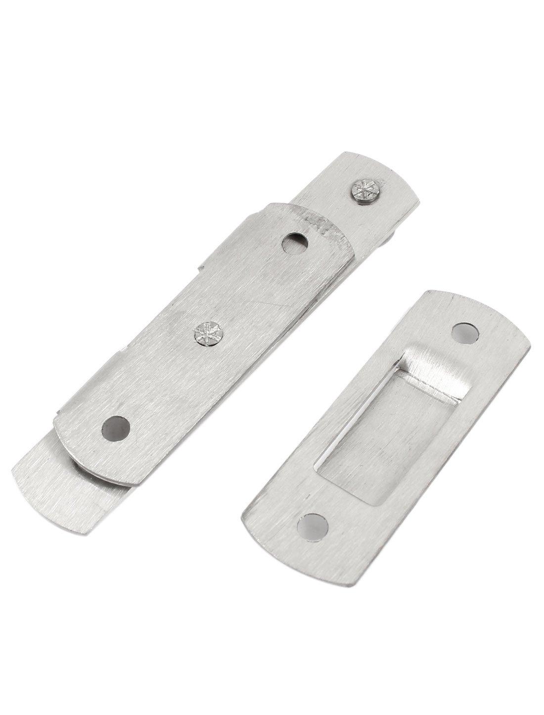 De montaje de puerta de Interior Home tono plateado met/álico protector de cadena de seguridad