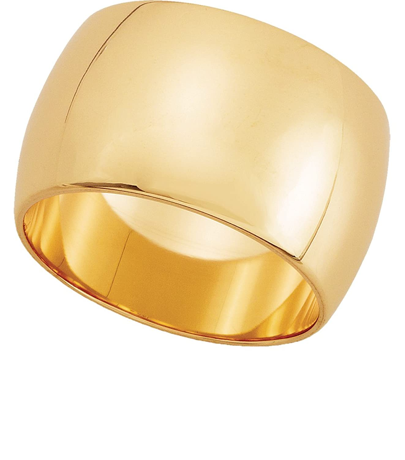 wedding mens brushed shop two gold product tone ring band rakuten bands