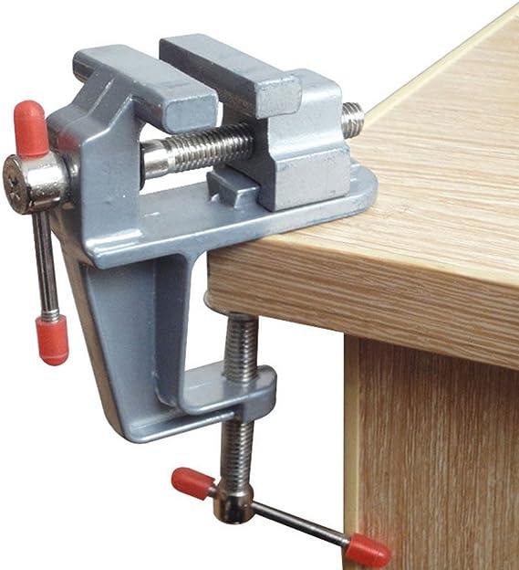 Vivian Mini Table Bench Vise Swivel Lock Clamp Craft Hobby Craft Repair Tool