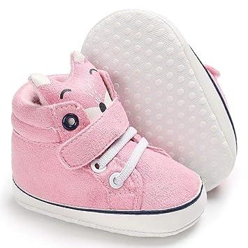 Amazon.com: Zapatillas de algodón con suela suave ...