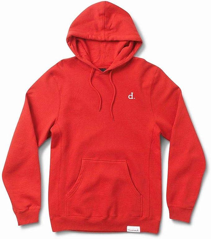 Diamond Supply Co Mini Un Polo Pullover Hoodie Red: Amazon.es ...