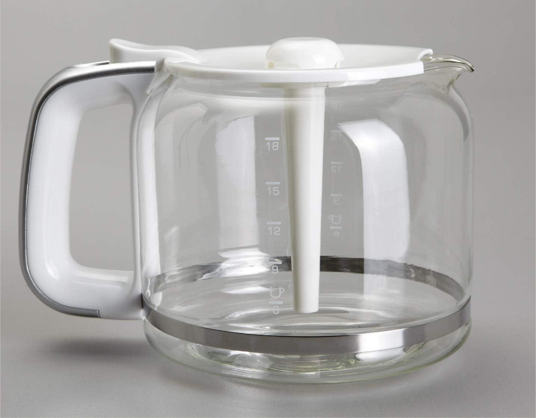Brandt CAF1318S Cafetera de goteo, 1000 W, 1.8 litros, Negro y ...