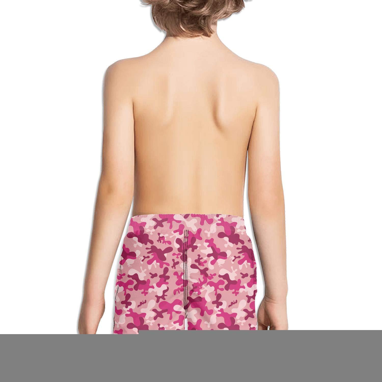 uejnnbc Pink camo Vinyl Reflex Core Quick Dry Swim Shorts