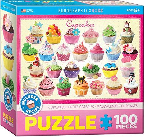 - Eurographics Cupcakes Puzzle, 100-Piece