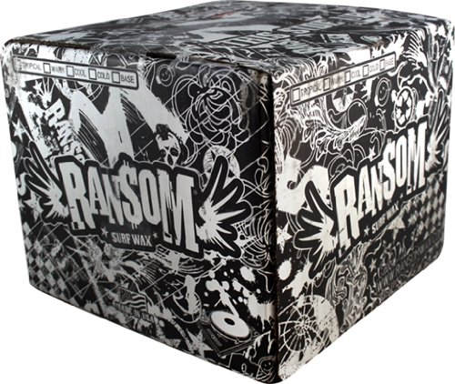 Ransom Tropical Case 84 Surf Wax by Ransom Surf Wax