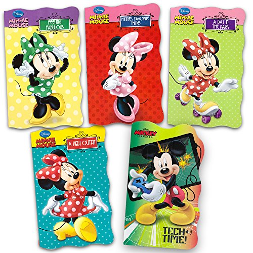 Disney Minnie Mouse Ultimate Board Books Set For Kids Toddlers -- Pack of 5 Books ()