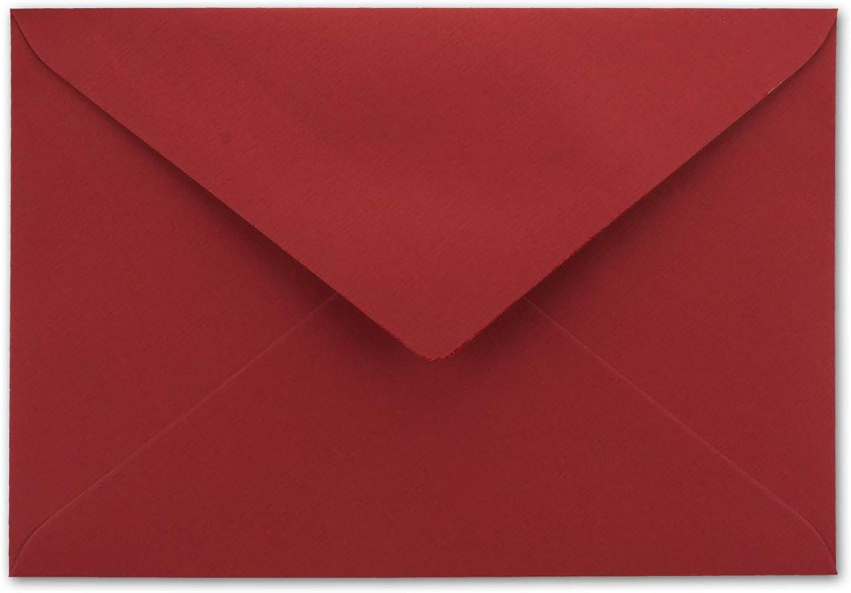 Buste C6/-/Rosso Scuro/-/Imbottitura in carta velina bianca qualit/à premium/-/110/G//m/²/-/223/x 155/mm/-/molto resistente/-/nassklebung/-/qualit/à marca: