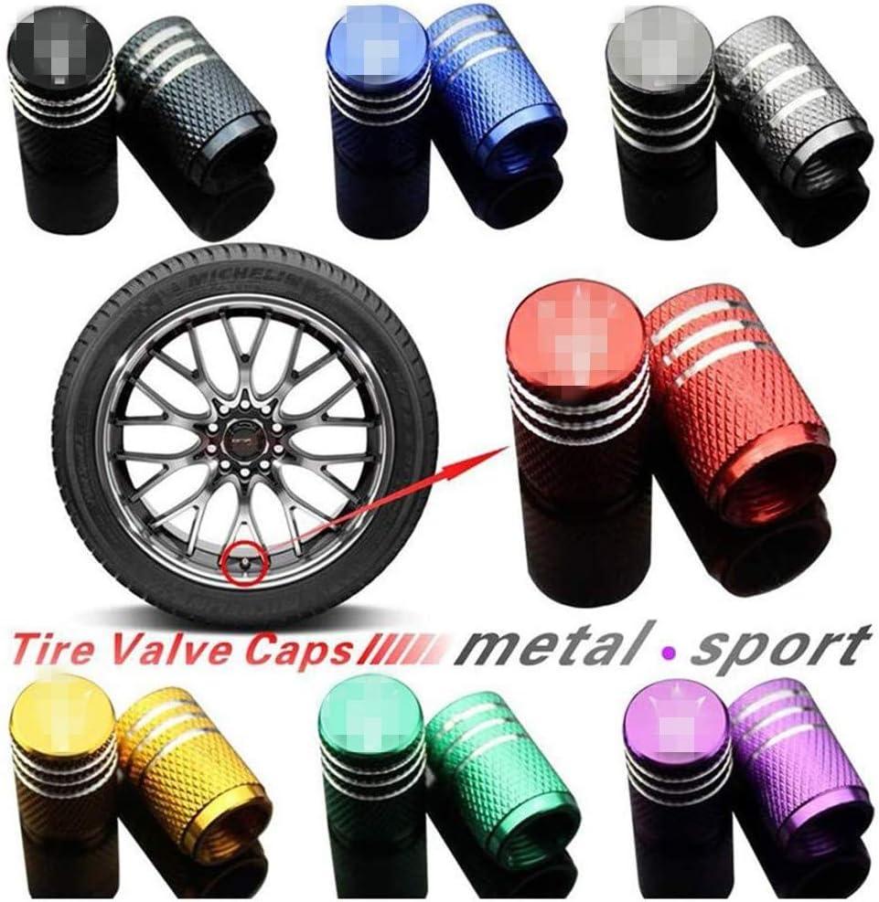Auto Tappi Valvola Pneumatici Copertura Compatible per Maserati Giberi President Levante GT Car Styling Car Valvola della Gomma BDXZJ Tappo Valvola Coprivalvola cap