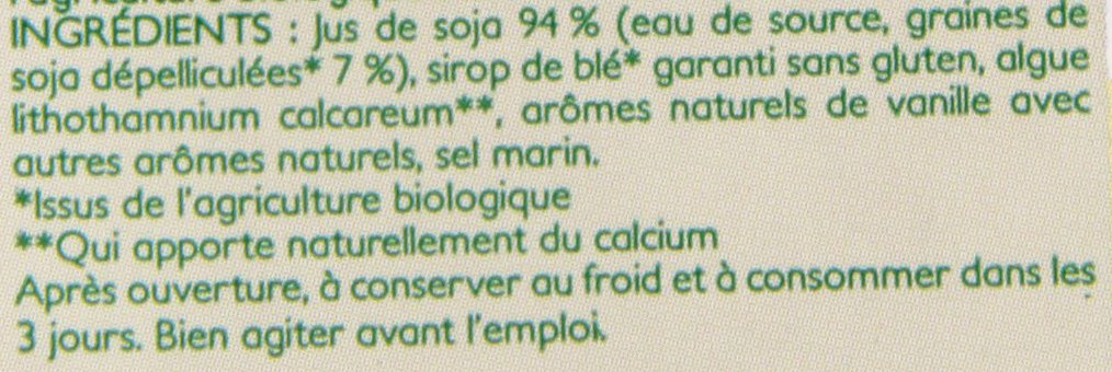 Amazon.com : Sojade Vanilla and Calcium Soya Milk 1 Litre (Pack of 6) : Grocery & Gourmet Food
