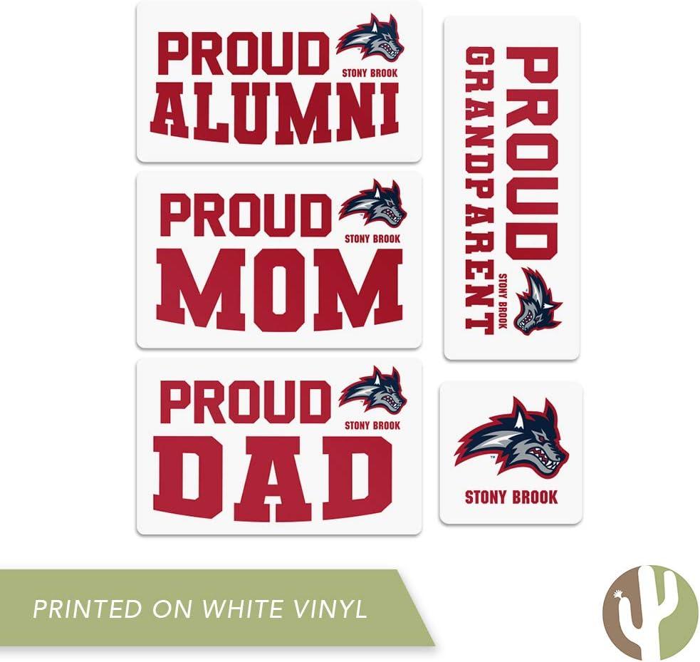 Family Full Sheet Stony Brook University Seawolves NCAA Sticker Vinyl Decal Laptop Water Bottle Car Scrapbook