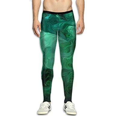 Men s Compression Pants Emerald Green 2 3D Print Baselayer Cool Dry Sports  Thermal Tights Running Fitness 1b66d1bc368f