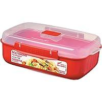 Sistema Microwave Microwave Bowl, Red