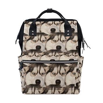 Amazon.com: Funny Boring Siberian Husky perro pañales bolsas ...