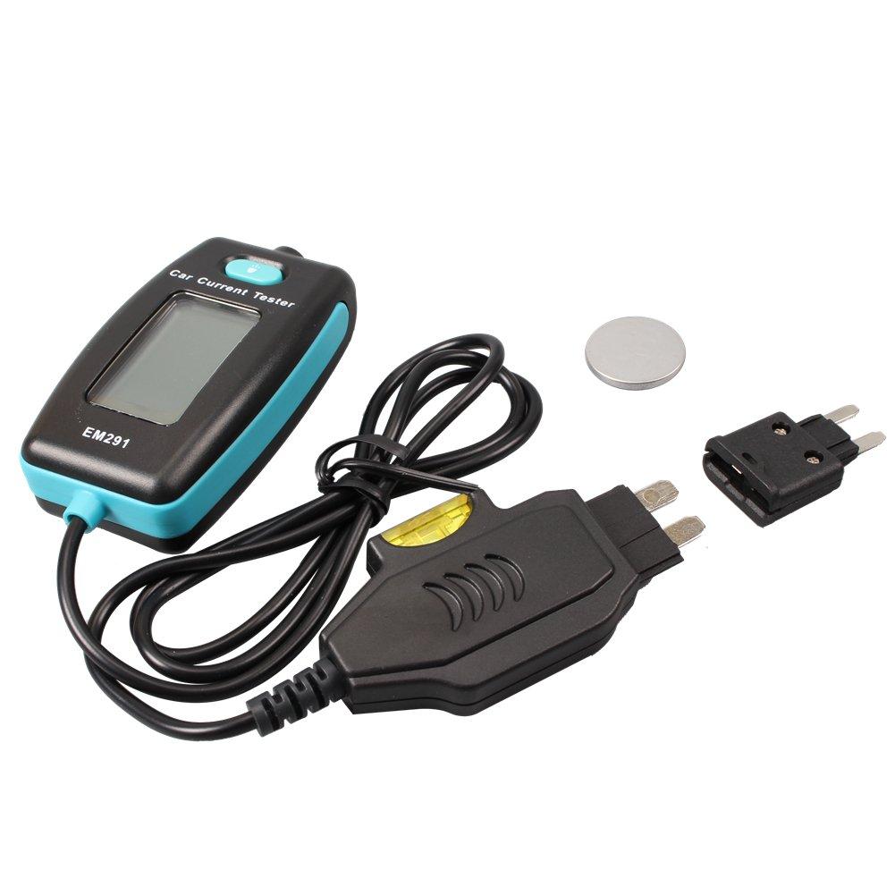 Digital Automotive Fuse Current Tester Max 20A CCLIFE
