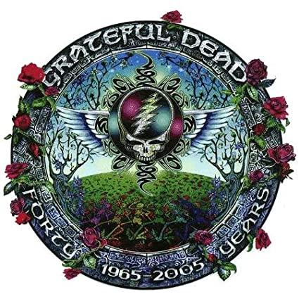 Decal AD996 Steal Your Face 40th Anniversary Commerative Sticker Grateful Dead