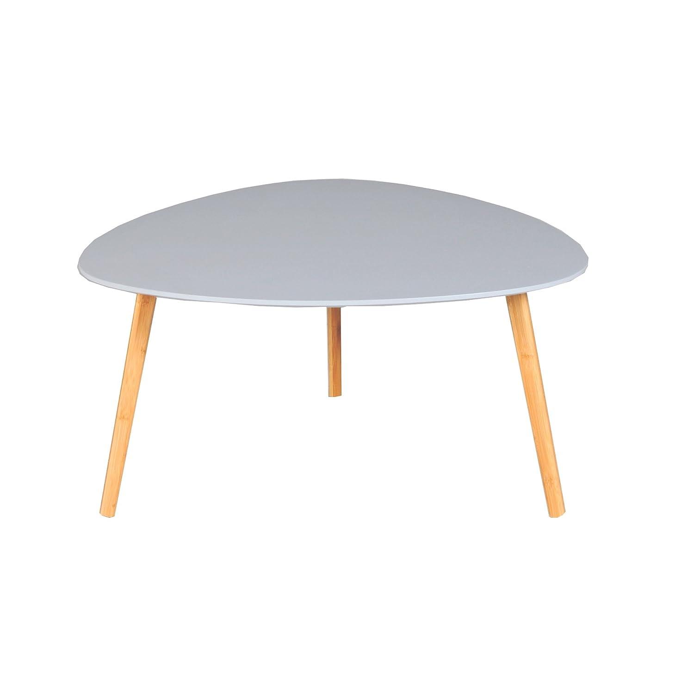 Weber Industries Onyx Couchtische, Holz, Grau, 80 x 80 x 40 cm
