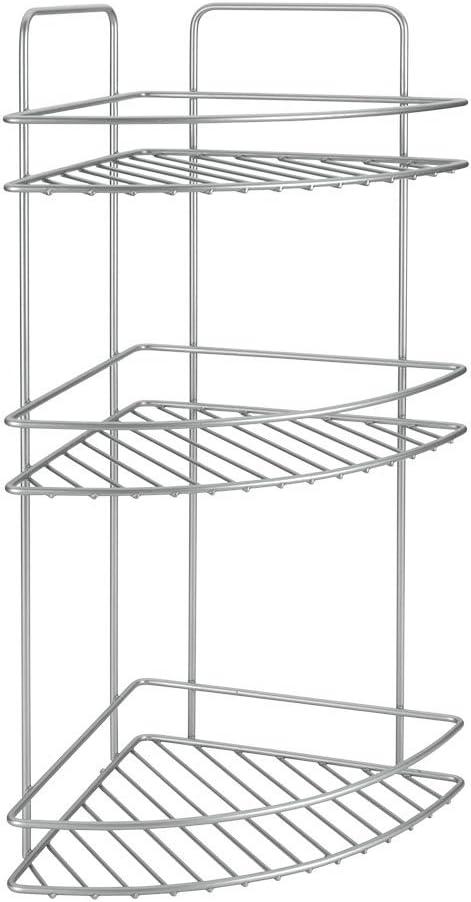 Metaltex 40421539 Reflex-Rinconera, 3 Pisos, 53 x 23 x 23 cm, Gris ...