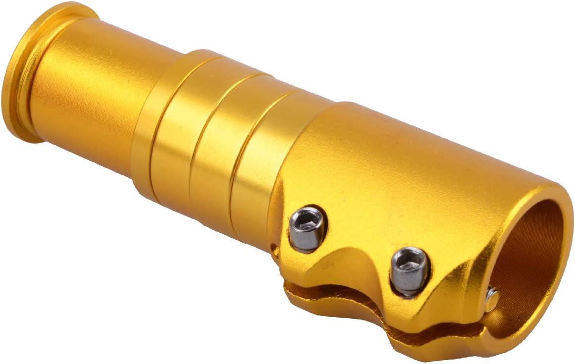 Azarxis Potence VTT Guidon VTT en Alliage dAluminium Rehausseur Potence V/élo Tige Extender Fourche Rallonge Ajustable Riser pour V/élo de Route BMX