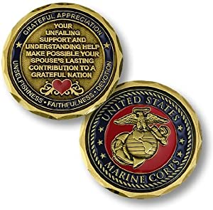Marine Corps Spouse Coin