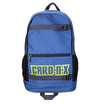 squarex Mochila Escolar, Pareja Estudiante Color Puro Oxford Ropa Hombro Bolso Tote Azul Azul AS