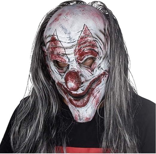 ERTY&OMB Máscara de Halloween Mascarada Fiesta de Disfraces Horror ...