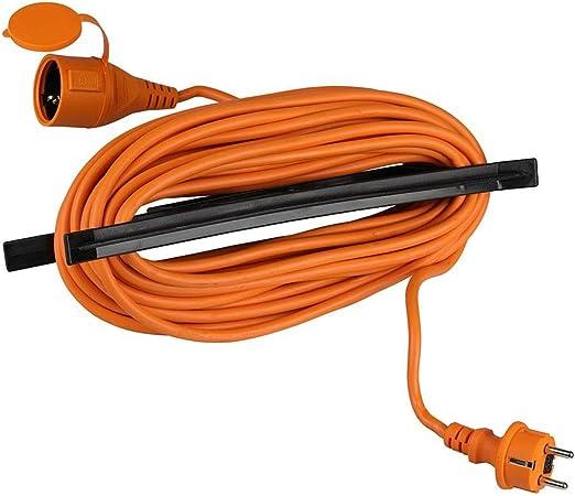 V-TAC VT-3002-15 - Cable alargador de jardín (enchufe y toma ...