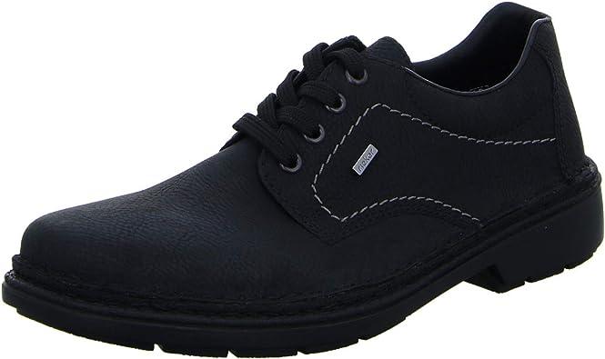 Rieker Halbschuh Schwarz: : Chaussures et Sacs