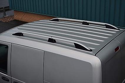 ALVM Parts /& Accessories Portaequipajes de Aluminio para portaequipajes Transit Courier 2014+