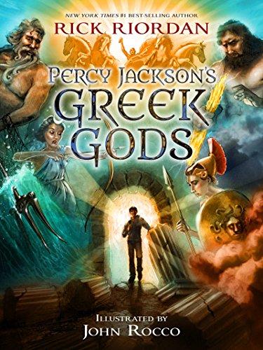 Percy Jackson's Greek Gods (A Percy Jackson and the Olympians Guide) (Read Percy Jackson And The Titans Curse)