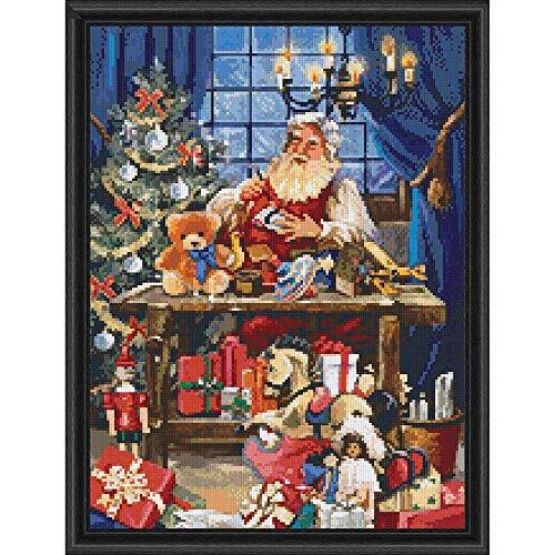 PixelHobby Santa's Workshop Mosaic Art Kit