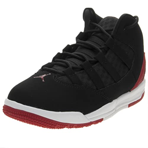ddc0870ac9331e Nike Boys  Jordan Max Aura (Ps) Fitness Shoes Black Red  Amazon.co ...