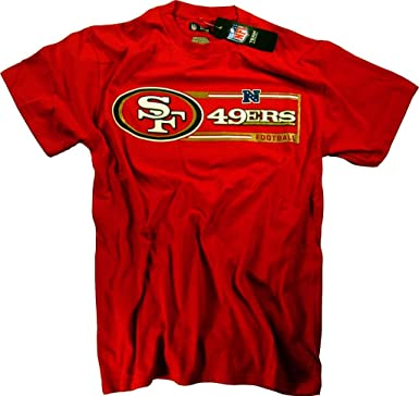 Officially Licensed by The NFL - Camiseta - Unisex adulto rojo rosso - rosso Talla:M: Amazon.es: Deportes y aire libre