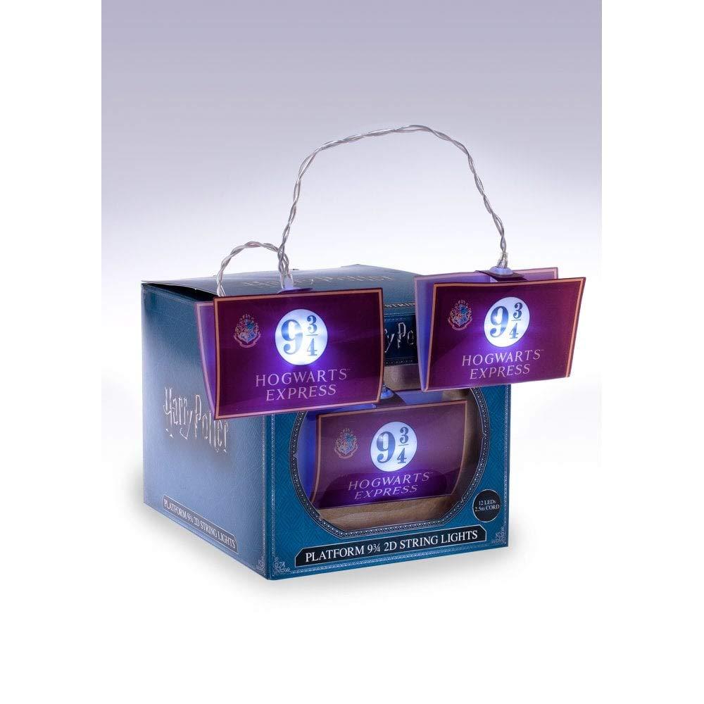 Groovy Harry Potter 2D String Lights Hogwarts Express 9 3/4 ...