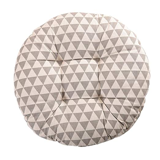 Biback Circular Chair Pad Cushion Natural para Home Office ...