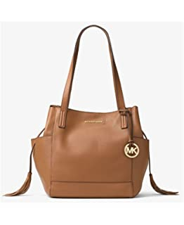 Michael Kors Extra Large Ashbury Grab Leather Bag in Black ...