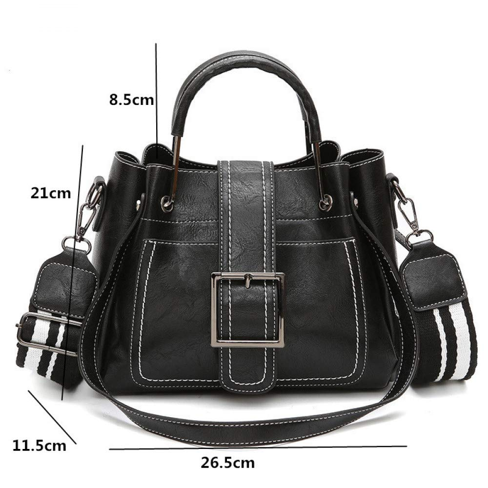 737f1d686bbd Amazon.com: GMYANDJB Soft Leather Crossbody Shoulder Bags for Girls ...