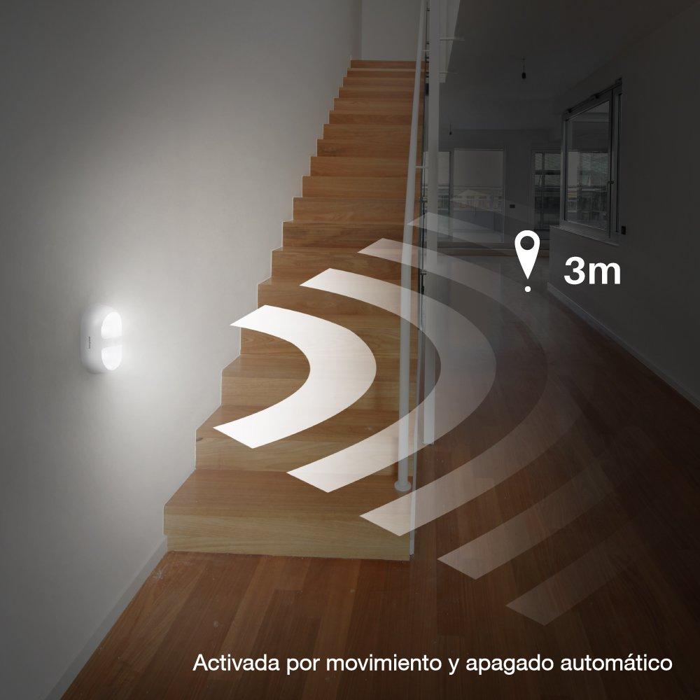 Jerrybox Lámpara para la pared que se activa por el movimiento por solo 23,99€