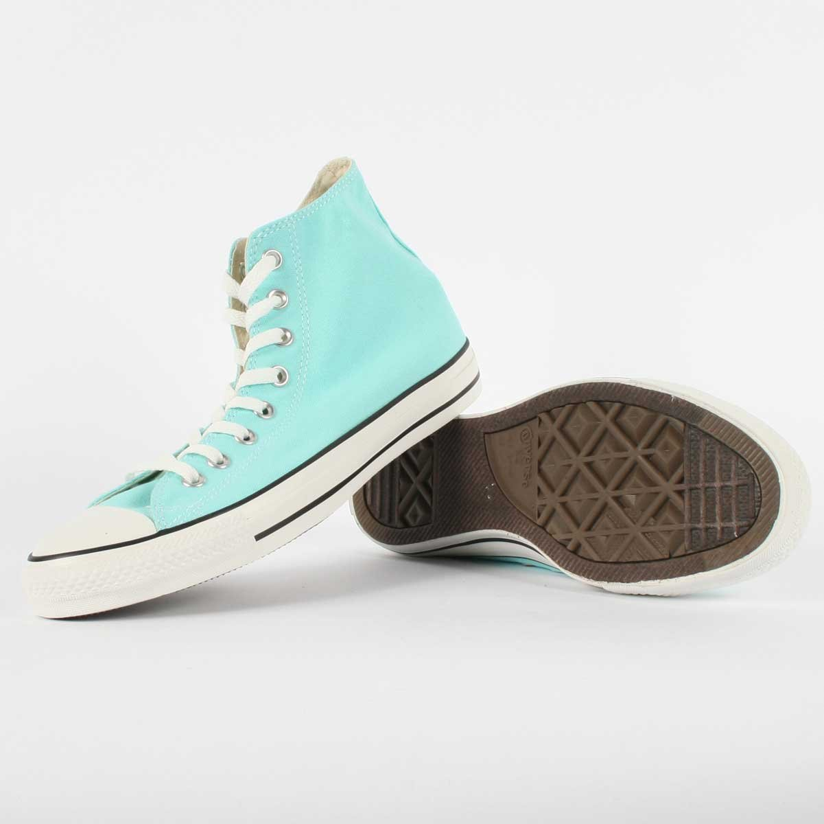 Converse Chuck Taylor All Star High Top Sneakers 136561F Beach Glass 7 M US