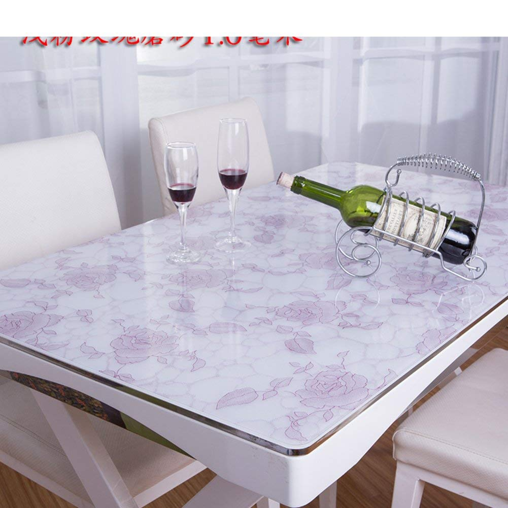 Hanpiaotech PVC防水油布軟質ガラスつや消しテーブルクロス (Color : I, サイズ : 90x150cm(35x59inch))   B07RJHPV7G