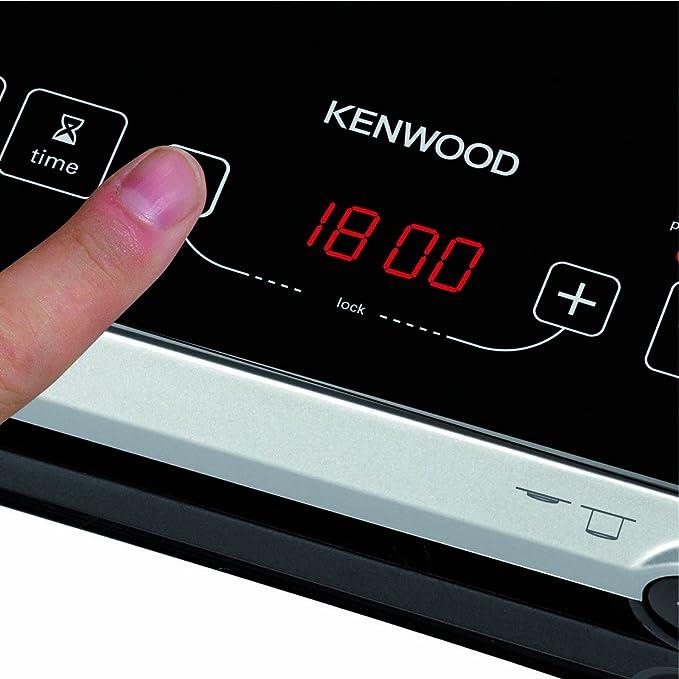 Kenwood IH470 Mesa Con - Placa (Mesa, Con placa de inducción, Cerámico, Negro, 2000 W, 25 cm)