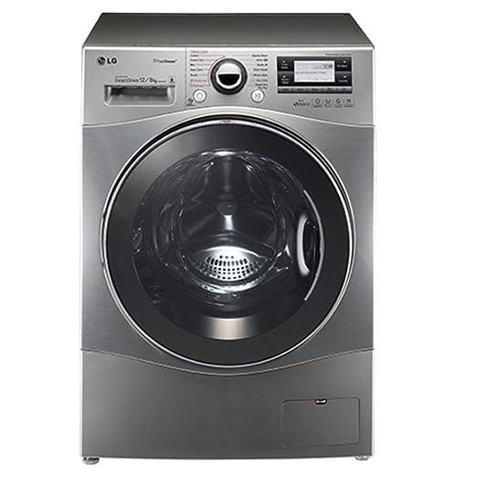 LG - Lavadora secadora F1695RDH7 de 12 Kg y 1.600 rpm: Amazon.es ...