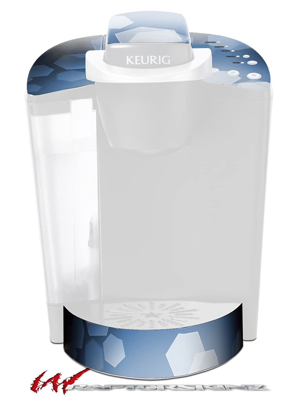 Bokeh六角ブルー – デカールスタイルビニールスキンFits Keurig k40 Eliteコーヒーメーカー( Keurig Not Included )   B017AK6T6Q