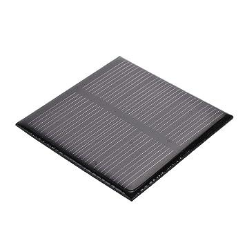 Anyutai La célula Solar portátil del Panel Solar 3V 0.36W para el Cargador de batería Solar, proyectos al Aire Libre caseros de DIY del Poder