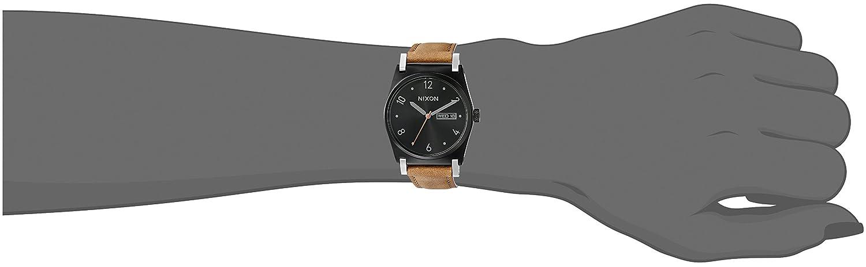 Amazon.com: Nixon Womens A9551037-00 Jane Leather Analog Display Japanese Quartz Brown Watch: Watches