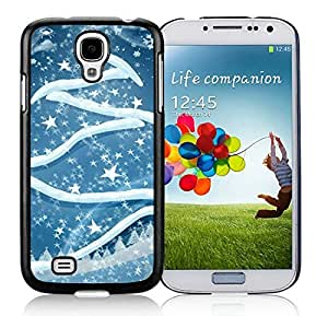 Hight Quality Samsung S4 TPU Protective Skin Cover Art Samsung S4 TPU Protective Skin Cover Christmas Tree Black Samsung Galaxy S4 i9500 Case 2