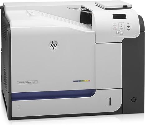 HP LaserJet Enterprise 500 color M551dn - Impresora láser (1200 x ...